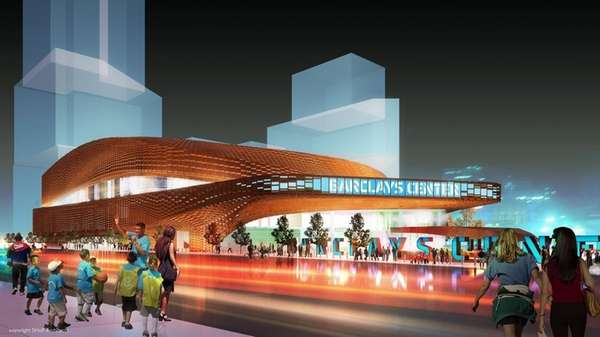 In this artist's rendering released by SHoP Architects,