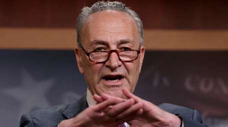 Senate Minority Leader Chuck Schumer says he is