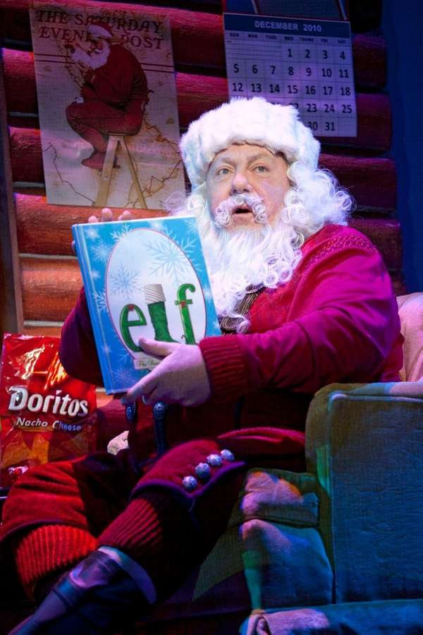 George Wendt will reprise his role as Santa