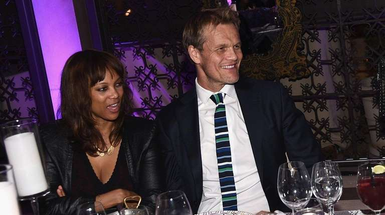 Tyra Banks and Erik Asla on Nov. 19,