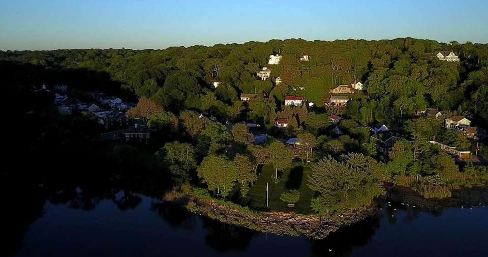 Cold Spring Harbor is seen on June 7,