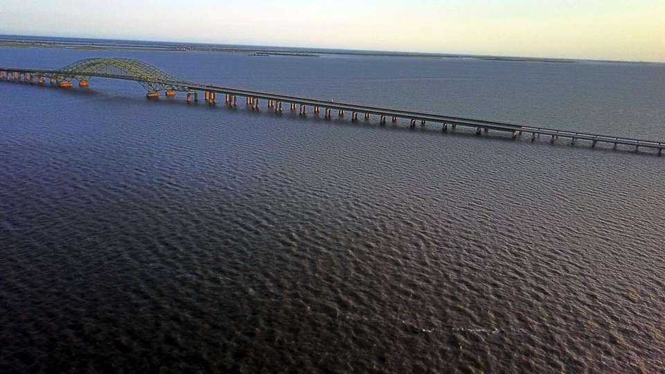 The Robert Moses Causeway is seen on June