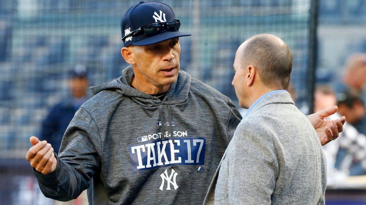 cheap for discount 84322 c521b Joe Girardi sets the bar high to measure Yankees' success ...