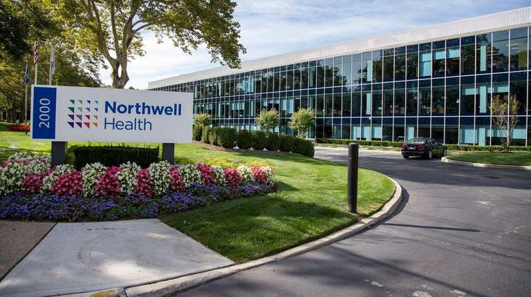 Northwell's headquarters at 2000 Marcus Ave. in Hew
