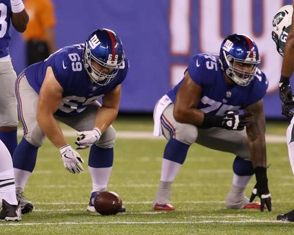 Giants elevate OL Jon Halapio to active roster