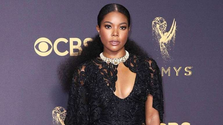 Gabrielle Union attends the Emmy Awards on Sept.