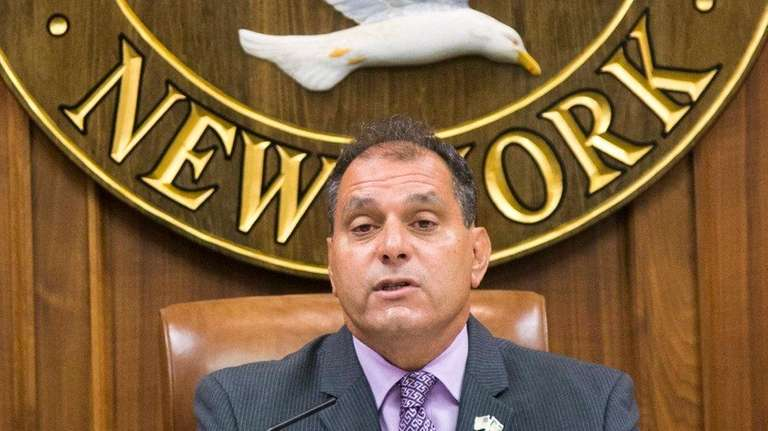 Oyster Bay Supervisor Joseph Saladino's proposed $298.9 million