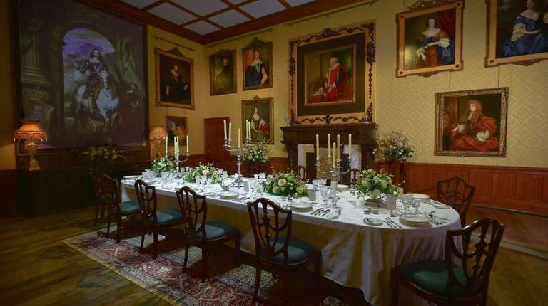 A reconstructed dining room is among the offerings