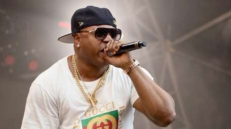 LL Cool J performs during the Meadows Music