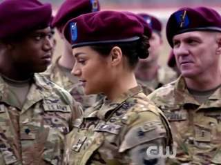 "The new CW series ""Valor,"" premiering Oct. 9,"