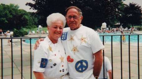 Arlene and Alan Hutt of Medford celebrated their