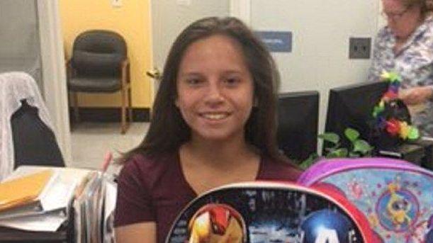 Nicole Culmone, a junior at Hampton Bays High