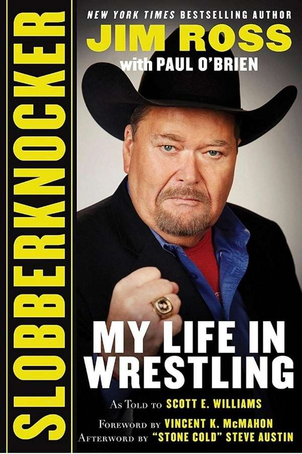 Cover of Jim Ross' book