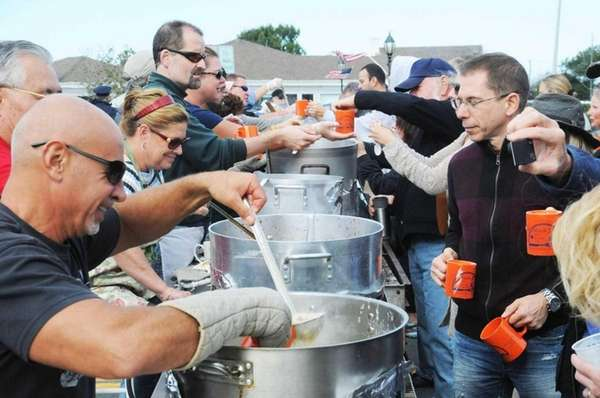 Chowder cook-off during the Montauk Chamber of Commerce