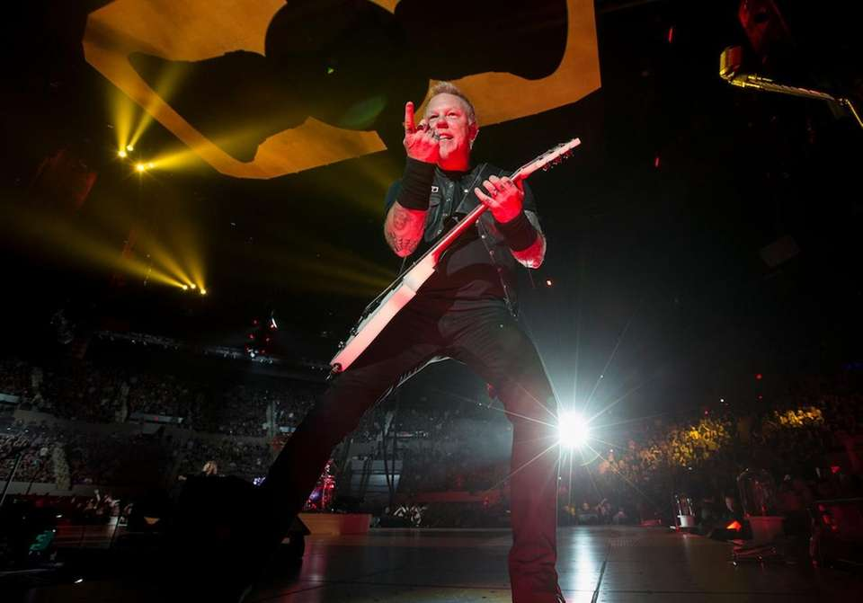 Metallica's sold-out show on May 17, 2017, not