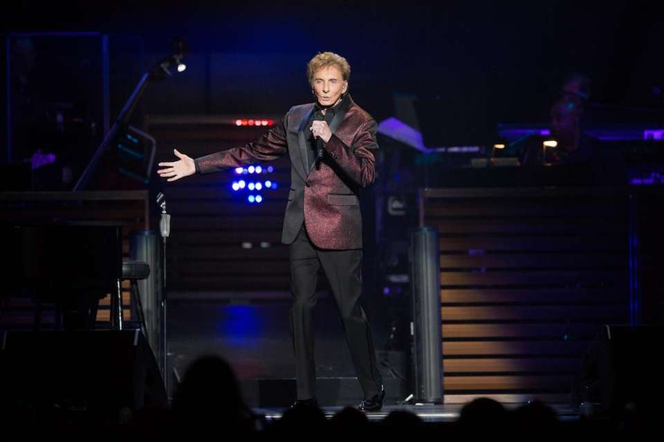 Barry Manilow included the Coliseum as one of