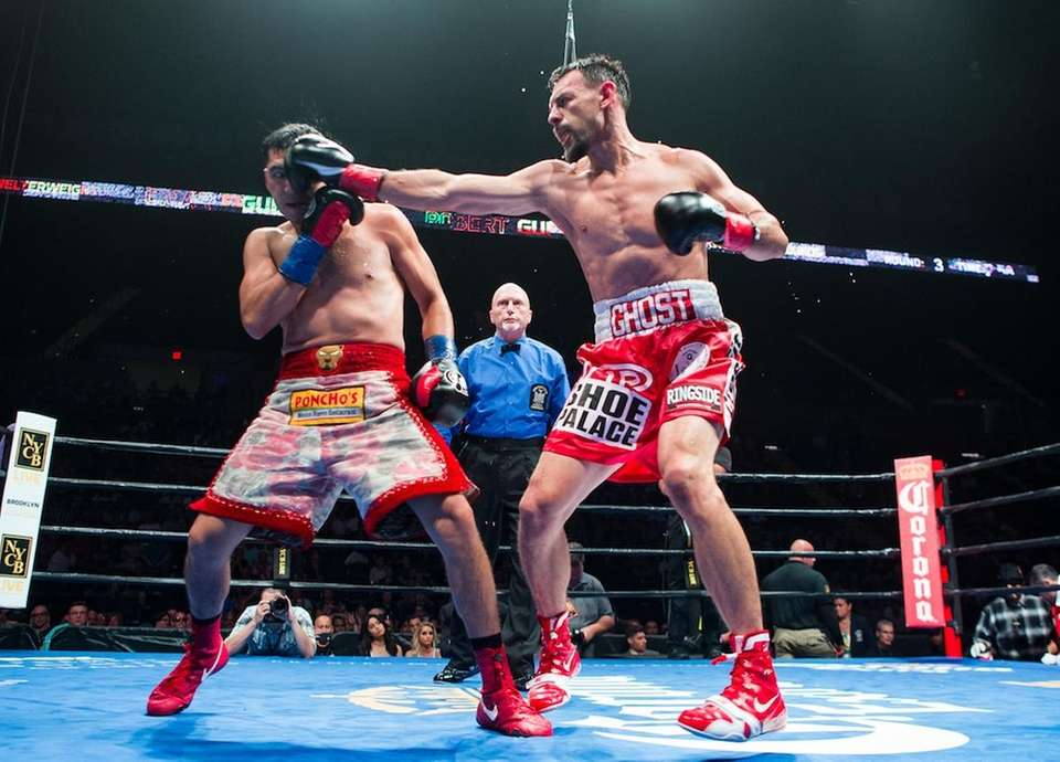 Boxing made its return to Long Island for