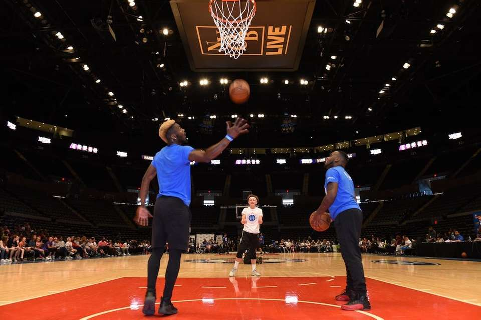 The Long Island Nets hosted a free inaugural