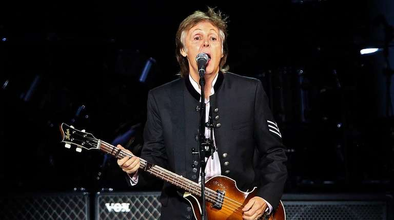 Paul McCartney plays the Coliseum on Sept. 26,