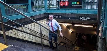 Mayor Bill de Blasio is a very different