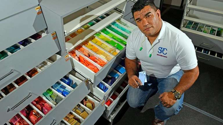 Ewerton Borges, president of Spectra Polymers & Color,
