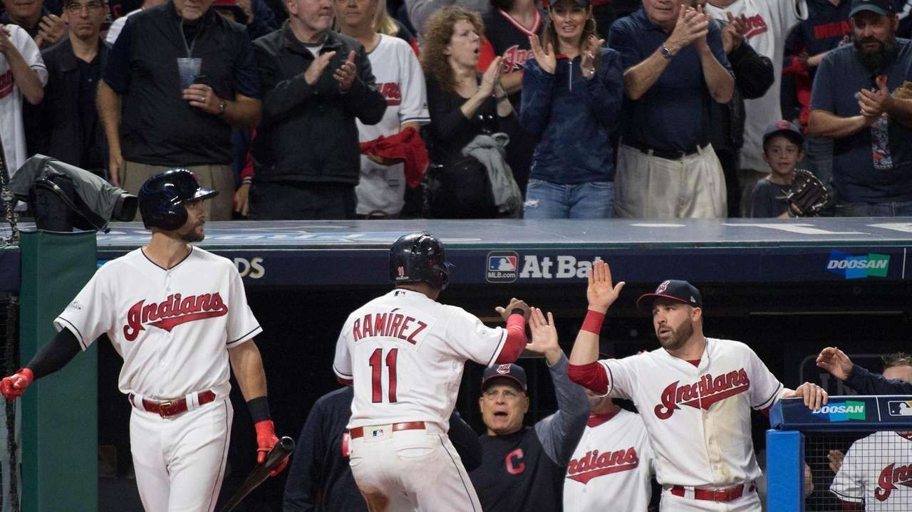 After the Indians beat the Yankees, 4-0, in