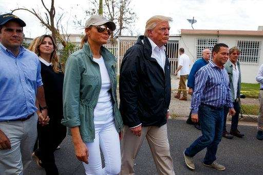 Trump Defends Throwing Paper Towels to Hurricane Survivors in Puerto Rico
