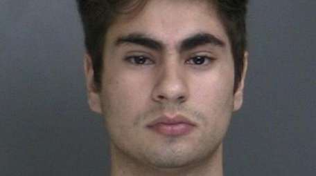 Daniel Jusino, 20, of Centereach, has been charged