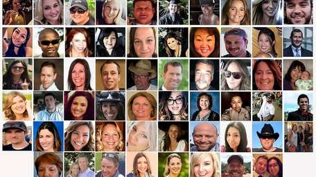 The 58 victims killed on Oct. 1, 2017,