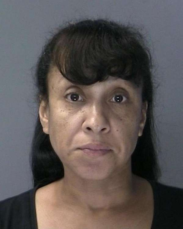 Anisa Escobar, 46, was charged with grand larceny