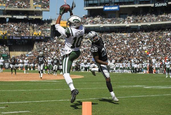 Jermaine Kearse #10 of the New York Jets