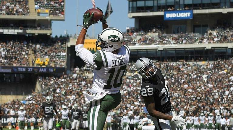 Jermaine Kearse #10 of the New York Jets