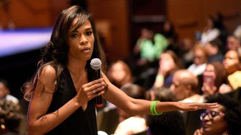 Former Destiny's Child singer Michelle Williams speaks about