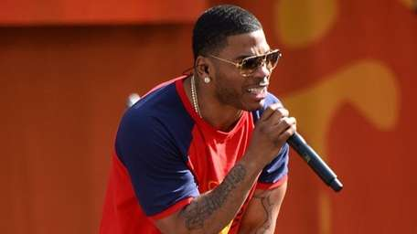 Grammy-winning hip-hop star Nelly, 42, performs on