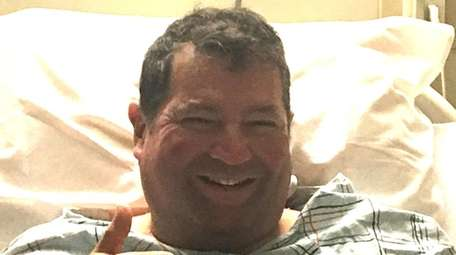 Michael Diaz, of Huntington, at Norwalk Hospital in