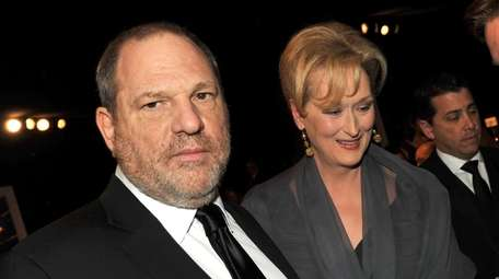 Harvey Weinstein and Meryl Streep attend the 18th