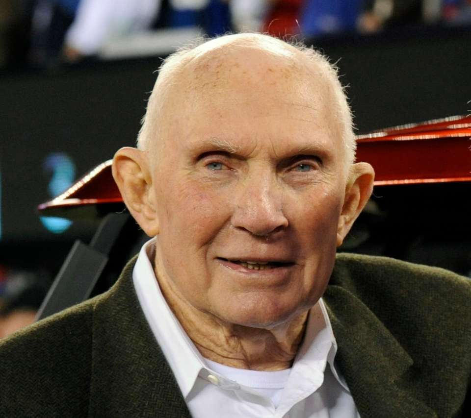 Y.A. Tittle, the Hall of Fame quarterback who