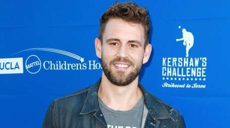 Reality-TV star Nick Viall at Clayton Kershaw's Fifth
