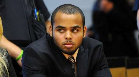 Dante Taylor at Suffolk County Court in Riverhead