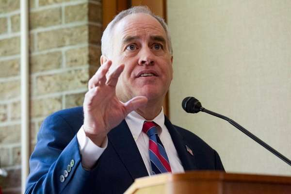 New York State Comptroller Thomas DiNapoli, whose office