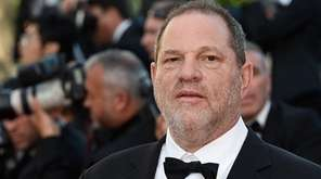 Harvey Weinstein as ousted Sunday from The Weinstein