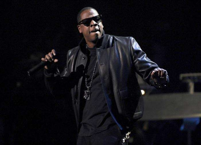 Jay Z performs during