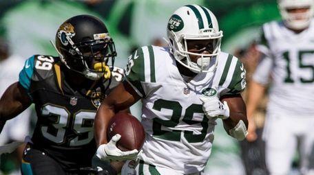 New York Jets running back Bilal Powell on