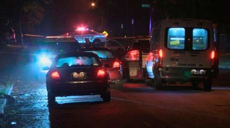 Suffolk County police respond to Patchogue Avenue and