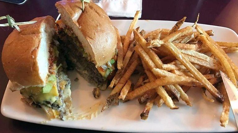 The Strip Burger at Del's Bar & Grill