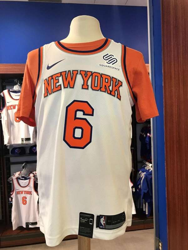 A look at the Knicks' jersey for the