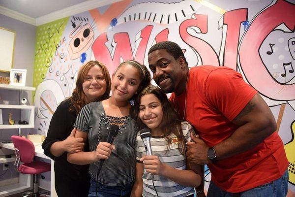 Beth Mason with daughters Maya, 12, Rachel, 13,