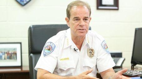 Southampton Police Chief Steven Skrynecki says new initiatives
