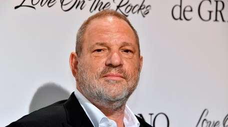 Film producer Harvey Weinstein during the 70th Cannes