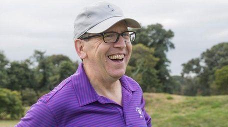Isles owner Jon Ledecky attended the Islanders golf